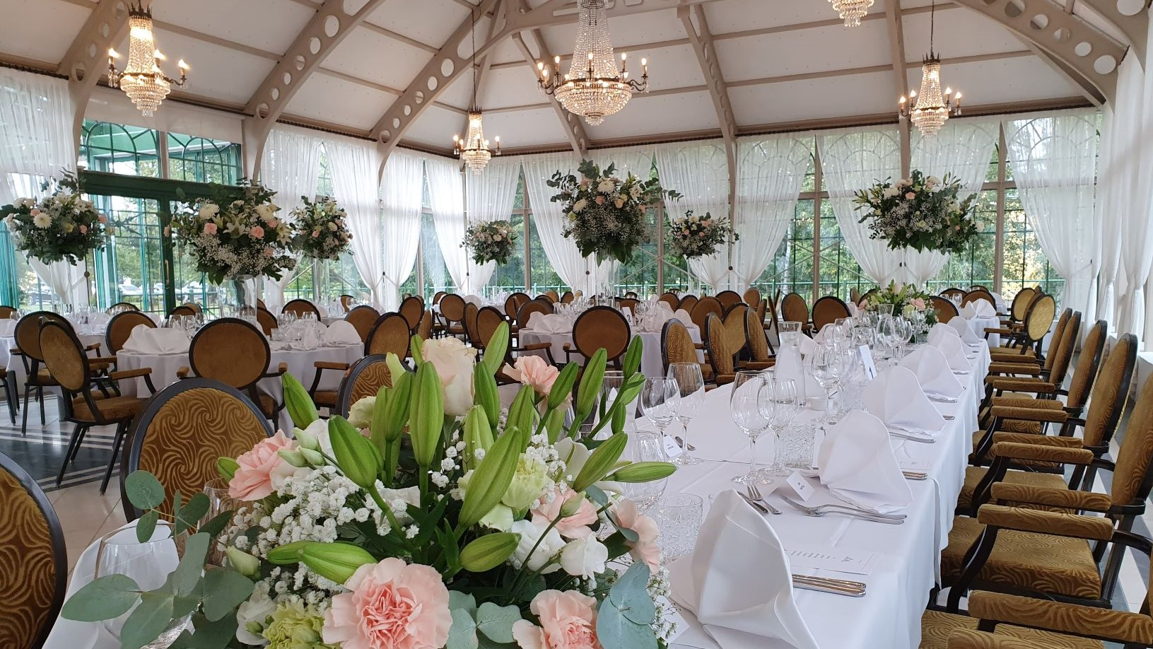 Picture perfect weddings and private conferences